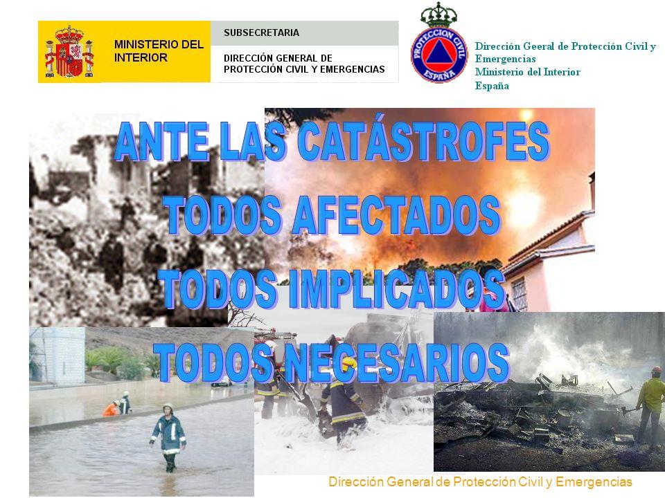 Dirección General de Protección Civil y Emergencias División de Formación y Relaciones Institucionales Formación teórica y práctica (Escuela Nacional