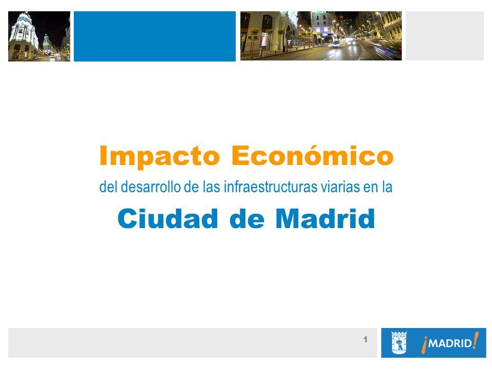 Guión: 1 Impacto Económico del desarrollo de las infraestructuras viarias en la Ciudad de Madrid