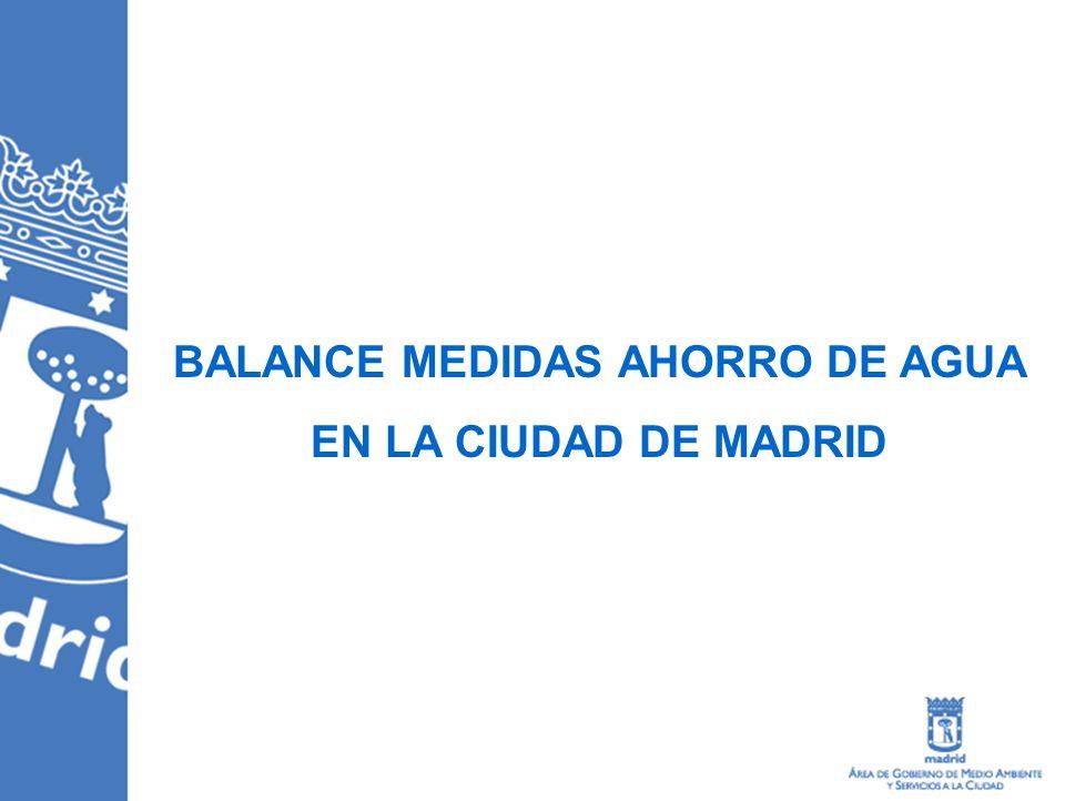 Información al ciudadano Decálogo de buenas prácticas El Ayuntamiento de Madrid propone a sus vecinos 10 sencillas medidas para el ahorro de agua este verano.