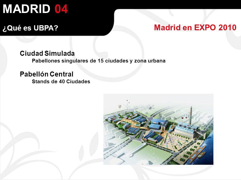MADRID Madrid en EXPO 2010 04 ¿Qué es UBPA.