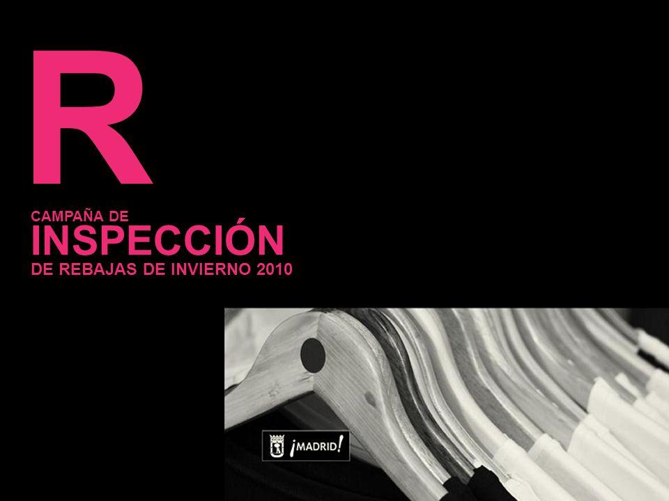 8 R INSPECCIÓN CAMPAÑA DE DE REBAJAS DE INVIERNO 2010