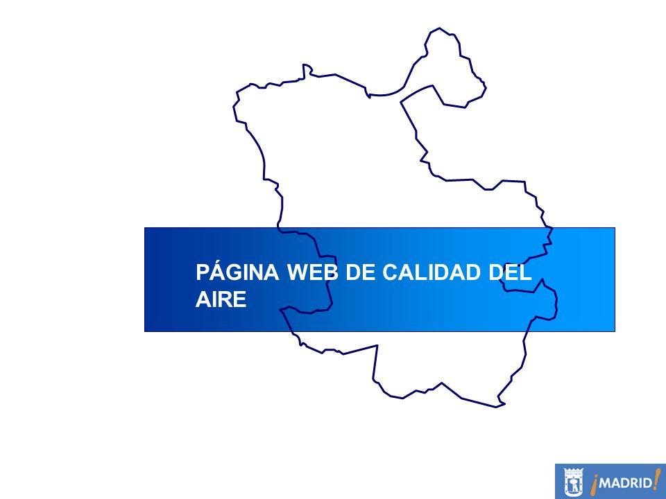 PÁGINA WEB DE CALIDAD DEL AIRE