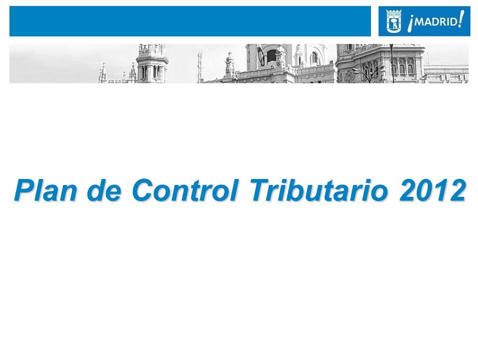 1. Presentación del Plan de Control Tributario 2012