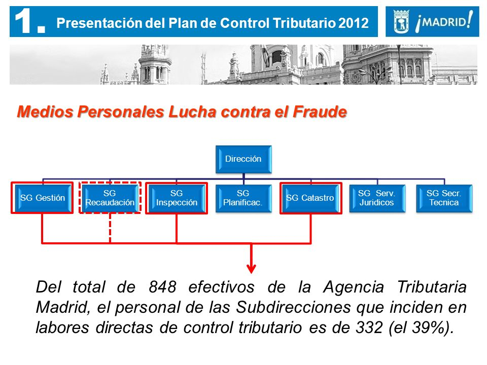 2. Resultados del Plan de Control Tributario 2012