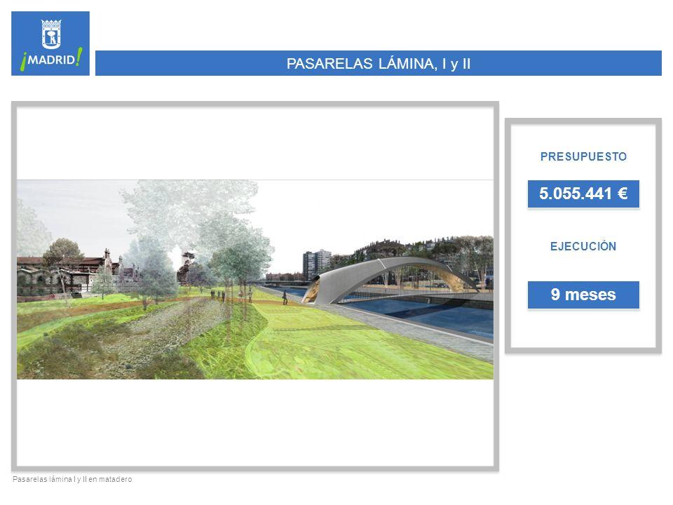 RECONVERSIÓN DEL PUENTE DEL REY PRESUPUESTO EJECUCIÓN 2.497.915 5 meses Puente del Rey visto desde el norte