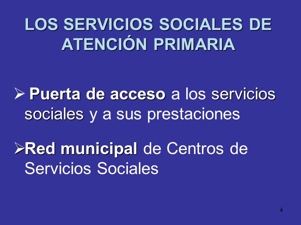 3 FINALIDAD DE LOS SERVICIOS SOCIALES FINALIDAD DE LOS SERVICIOS SOCIALES Promover Promover el bienestar y la cohesión social Prevenir Prevenir situac