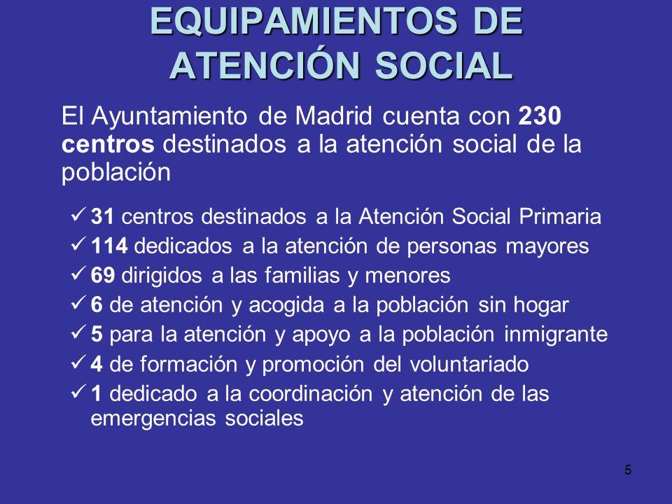 4 LOS SERVICIOS SOCIALES DE ATENCIÓN PRIMARIA Puerta de accesoservicios sociales Puerta de acceso a los servicios sociales y a sus prestaciones Red mu