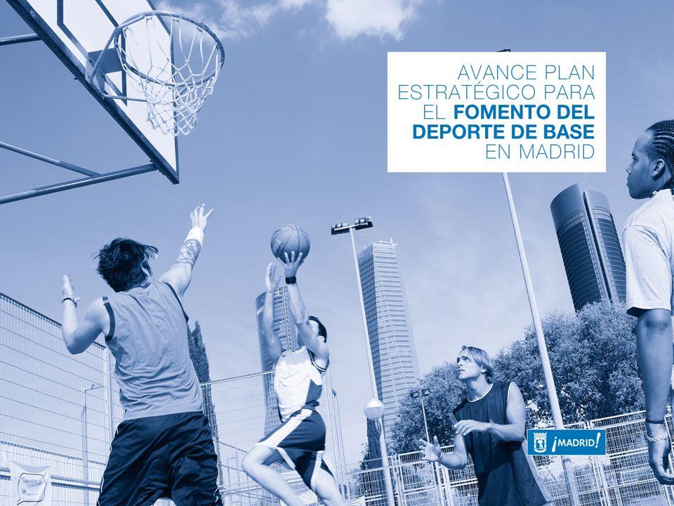 2 Avance del PLAN ESTRATÉGICO 2013-2020 para el fomento del deporte de base en Madrid Hacia un Plan Avance del Plan Estratégico 2 … como motor de proyección social y económica de la ciudad.