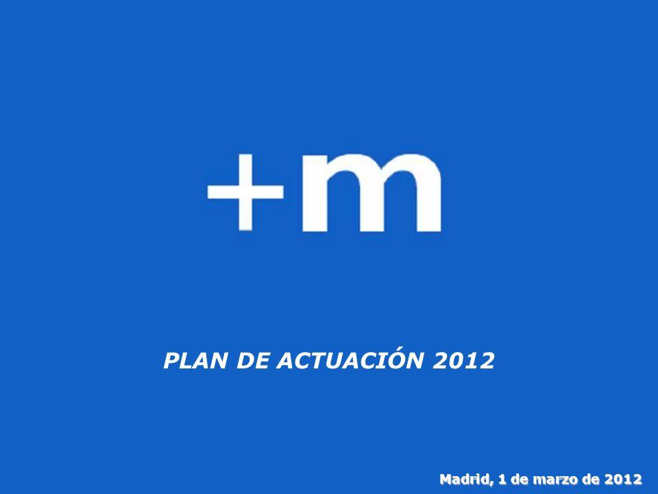 1 PLAN DE ACTUACIÓN 2012 Madrid, 1 de marzo de 2012