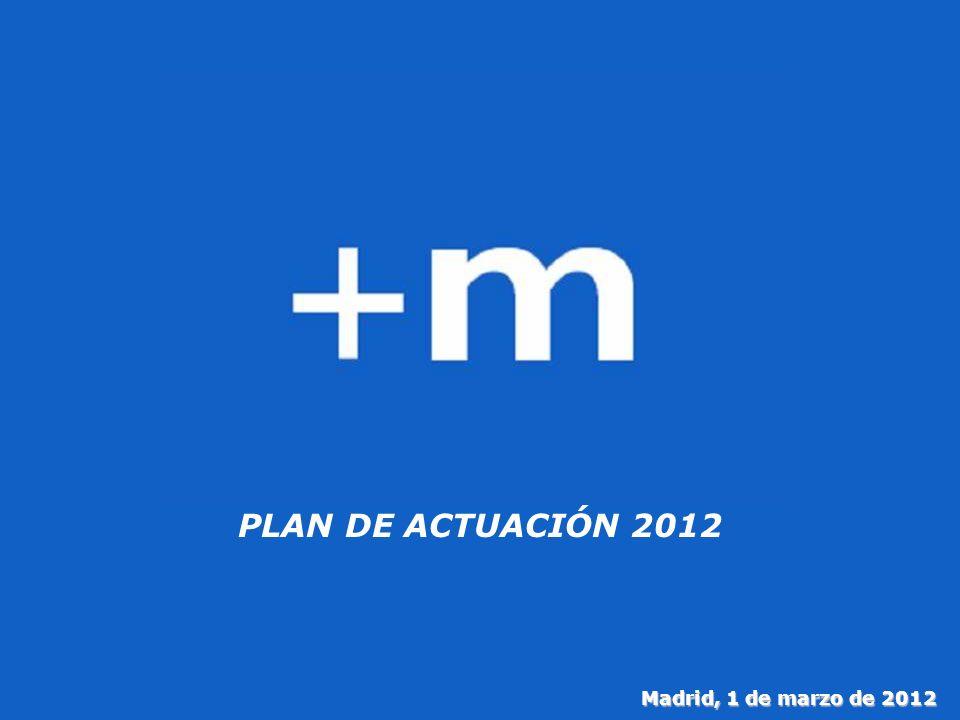 9 PLAN DE ACTUACIÓN 2012 Madrid, 1 de marzo de 2012