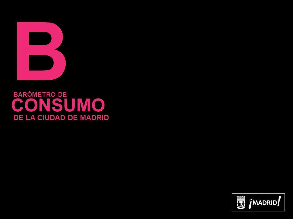 14 B CONSUMO BARÓMETRO DE DE LA CIUDAD DE MADRID