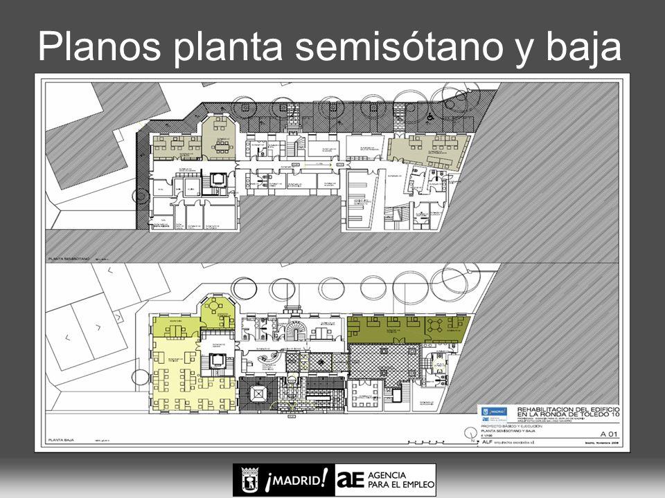 Planos 1 y 2 plantas