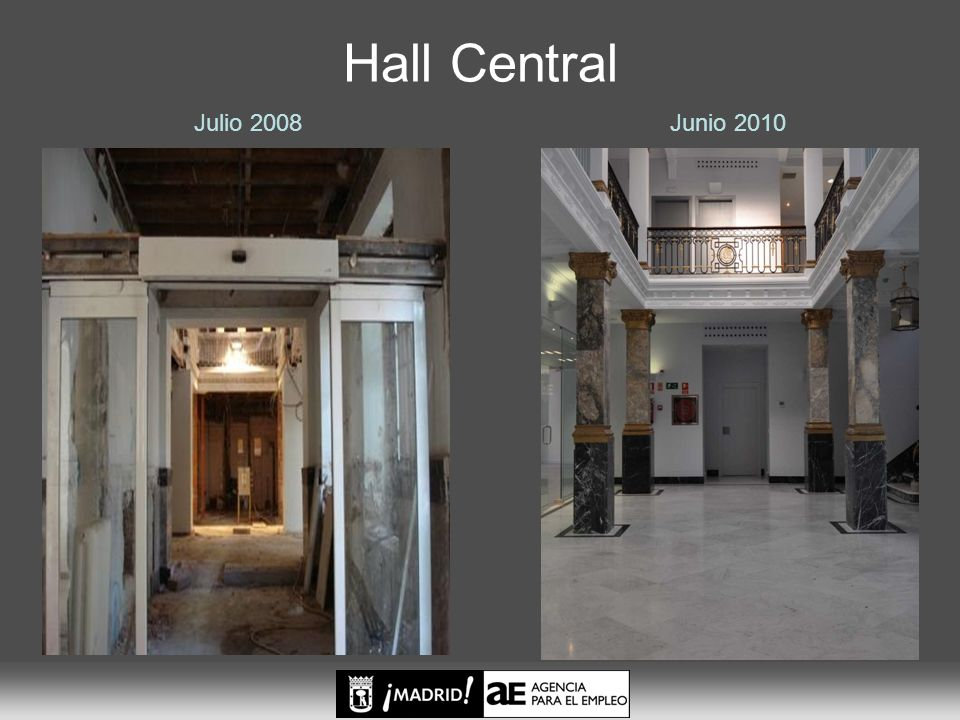 Julio 2008 Hall Central