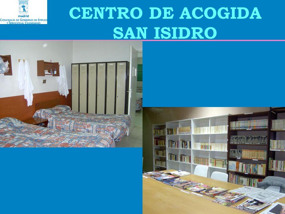 CENTRO DE ACOGIDA SAN ISIDRO