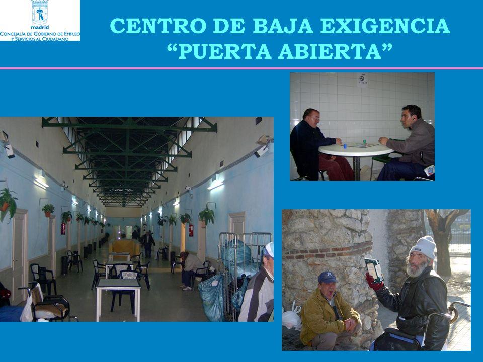 CENTRO DE BAJA EXIGENCIA PUERTA ABIERTA