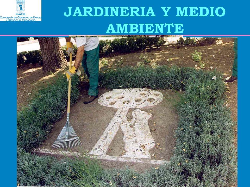 JARDINERIA Y MEDIO AMBIENTE