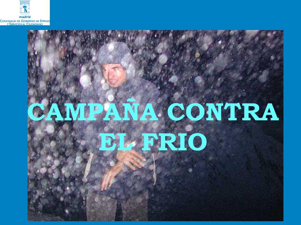 CAMPAÑA CONTRA EL FRIO
