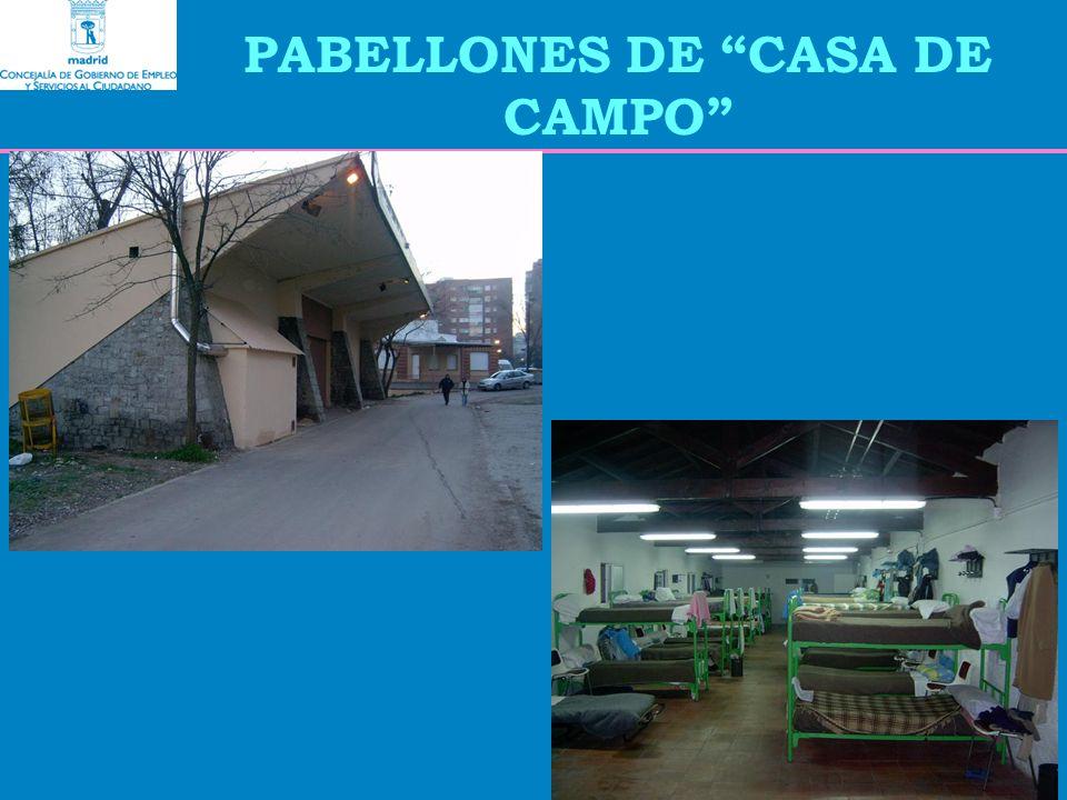 PABELLONES DE CASA DE CAMPO