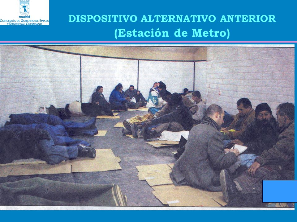 DISPOSITIVO ALTERNATIVO ANTERIOR (Estación de Metro)