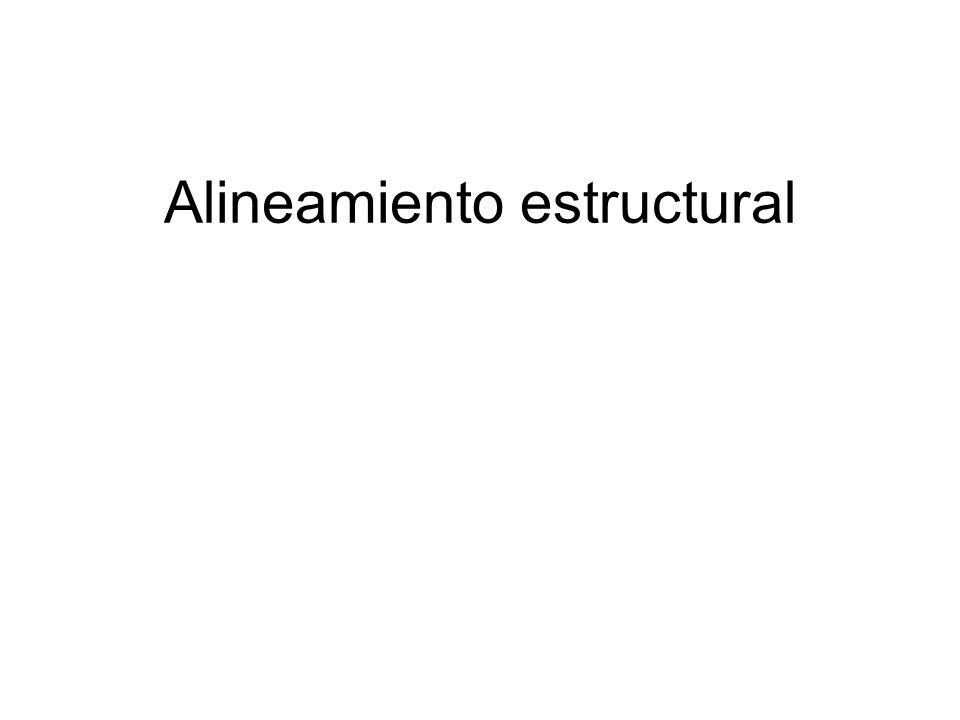Alineamiento estructural