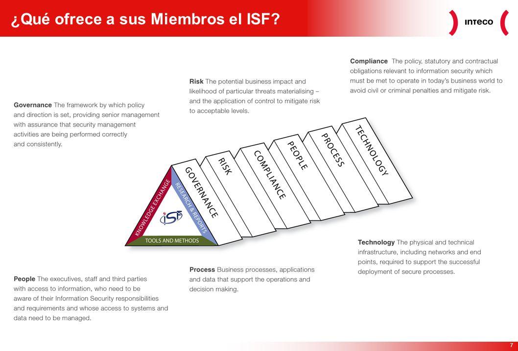 7 ¿Qué ofrece a sus Miembros el ISF