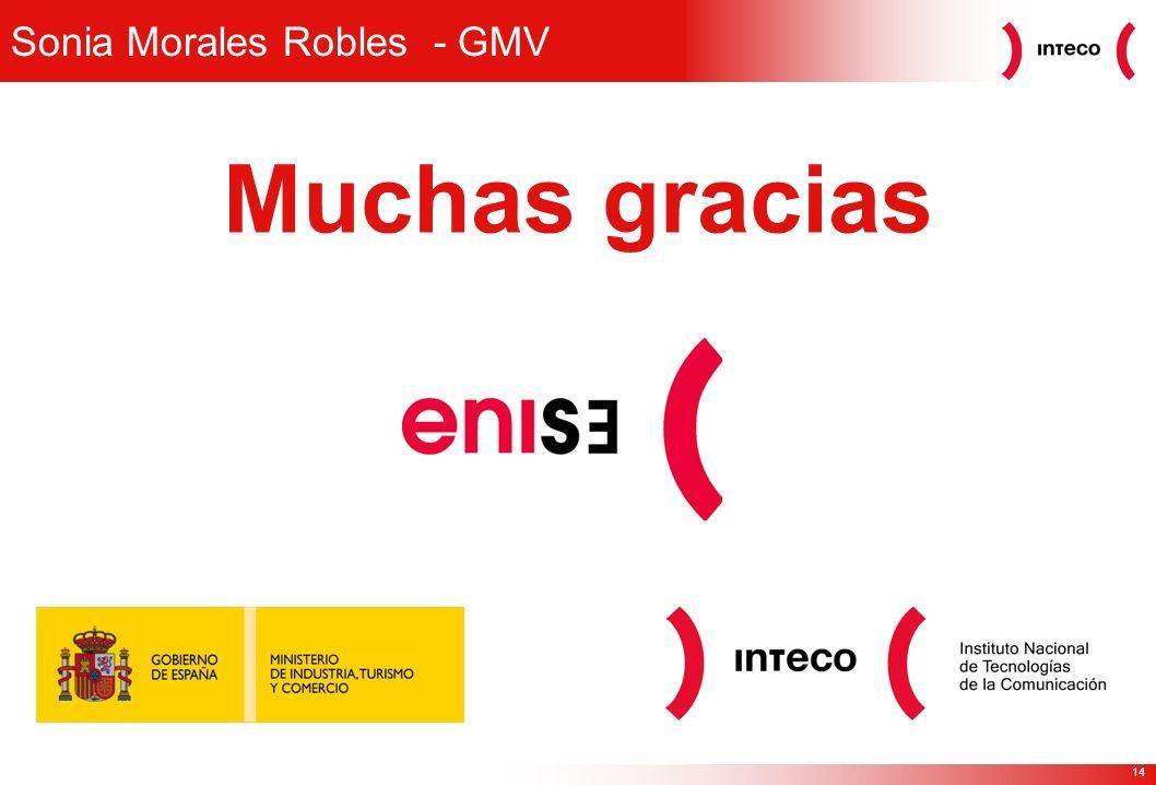 14 Sonia Morales Robles - GMV Muchas gracias