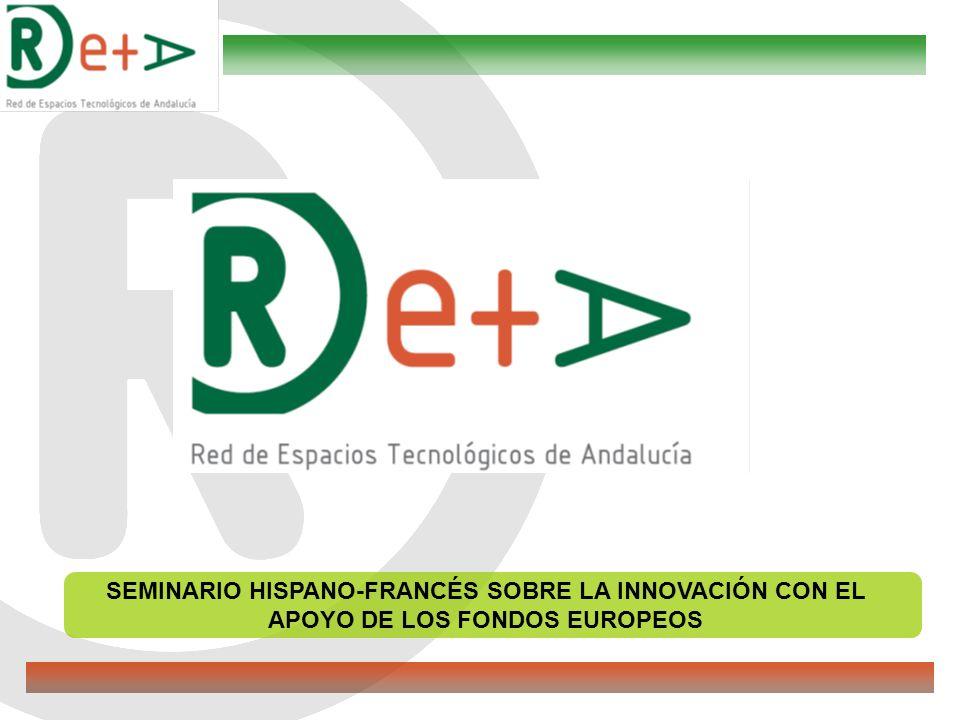 CONTEXTO La Red de Espacios Tecnológicos de Andalucía (RETA) se creó en 2005 a iniciativa de la Consejería de Innovación, Ciencia y Empresa de la Junta de Andalucía para estructurar y fortalecer el sistema de innovación andaluz bajo dos premisas: a.