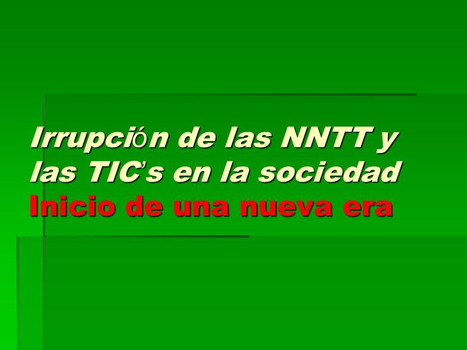 Es imprescindible tener en cuenta: El profesor debe dominar el uso de las NNTT Es preciso conocer los recursos didácticos que nos ofrecen.
