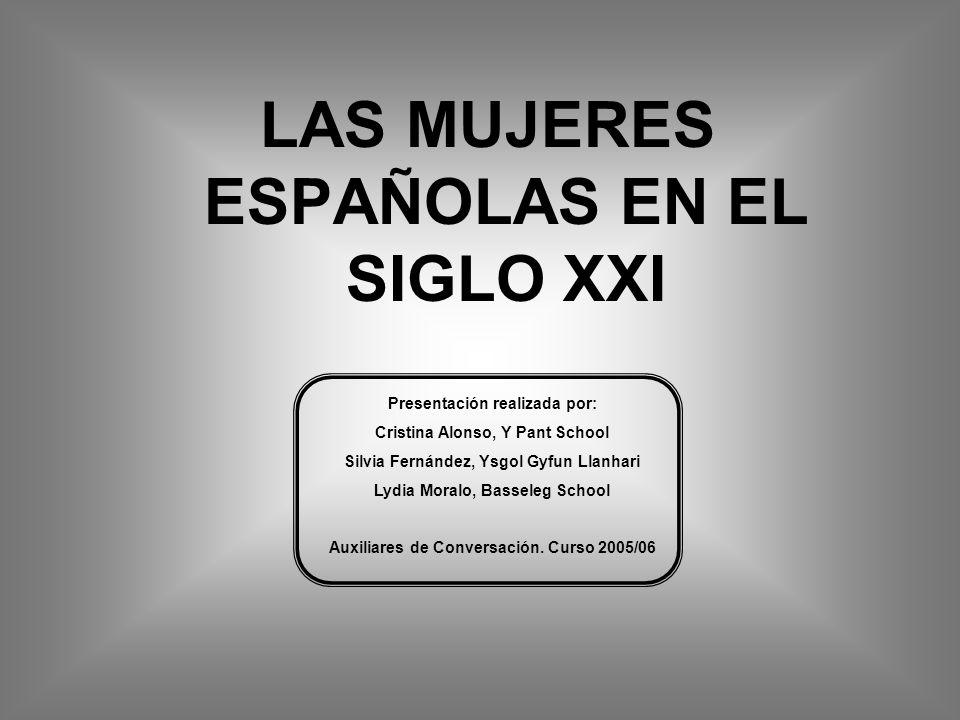 4. Las mujeres españolas en el mundo universitario