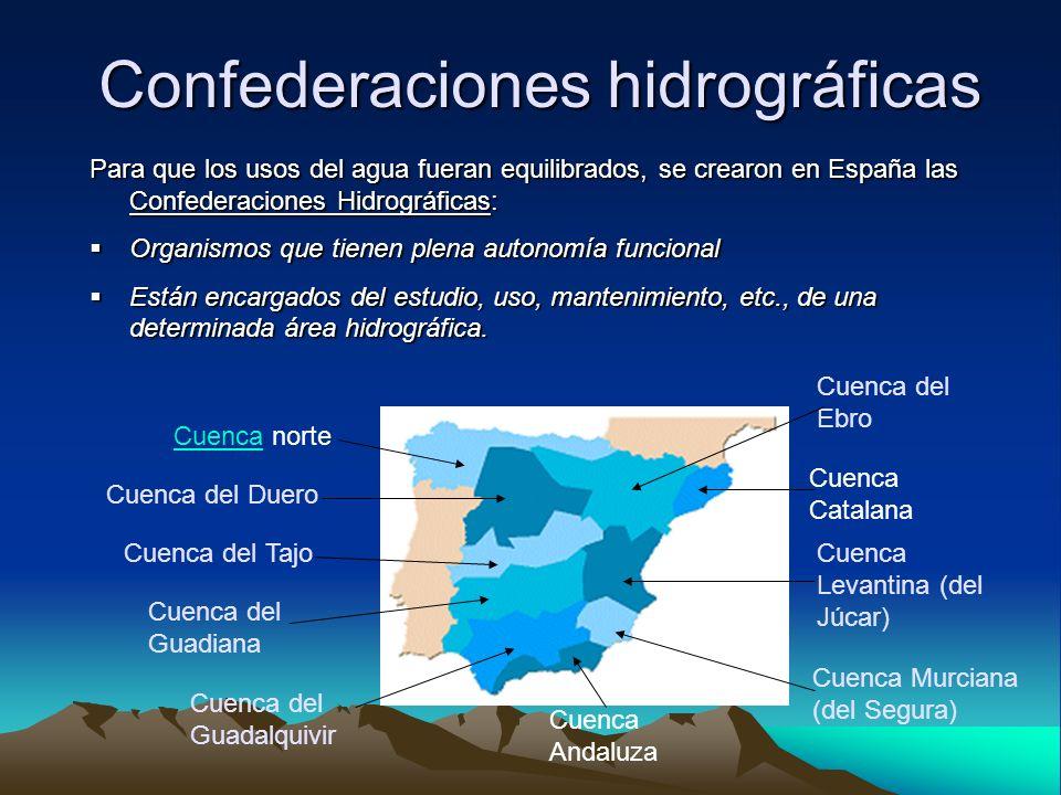 La sequía en España Disminución significativa de los recursos hídricos durante un período suficientemente prolongado que afecta a un área extensa.