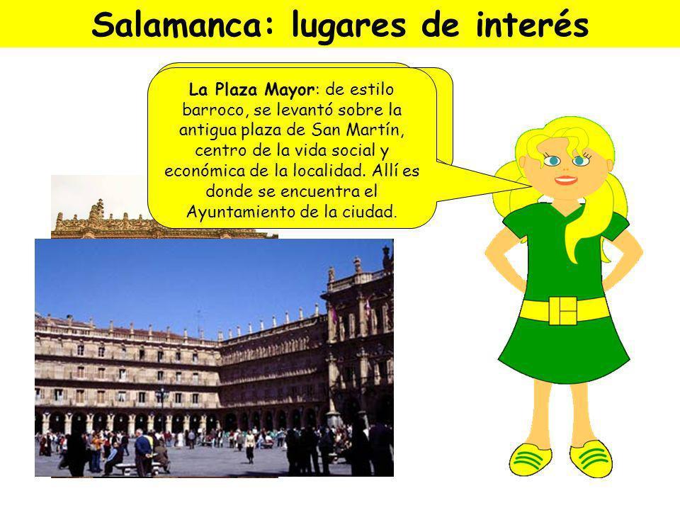 Salamanca está en Castilla y León. Fue fundada por los celtas. Su época de mayor esplendor es el Renacimiento. ¡Hola, Carmen! ¡Bienvenida a Salamanca!