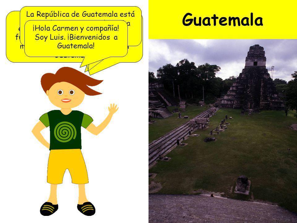 Sexta parada: ¡Guatemala!