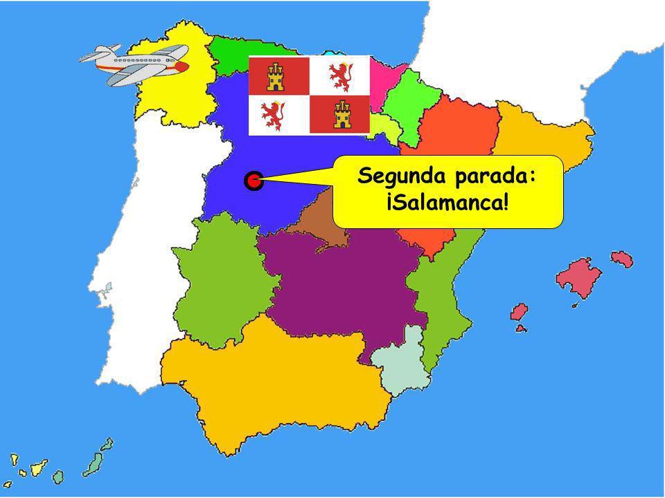 ¿Cuánto sabes de Santiago de Compostela? 1. ¿Dónde empieza el Camino de Santiago? a)En los Alpes b)En Santiago c)En los Pirineos 2. ¿Qué comida galleg
