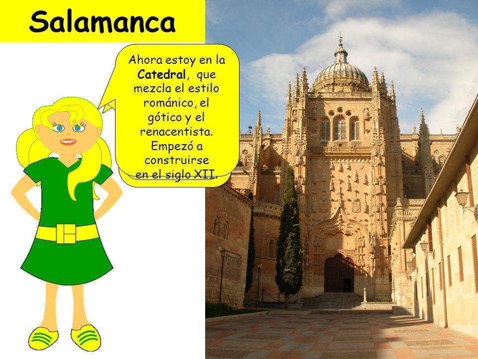 Salamanca está en Castilla y León.Fue fundada por los celtas.