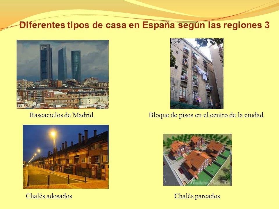 Patio andaluz Casa de Cantabria Pueblos blancos Andalucía Diferentes tipos de casa en España según las regiones 2
