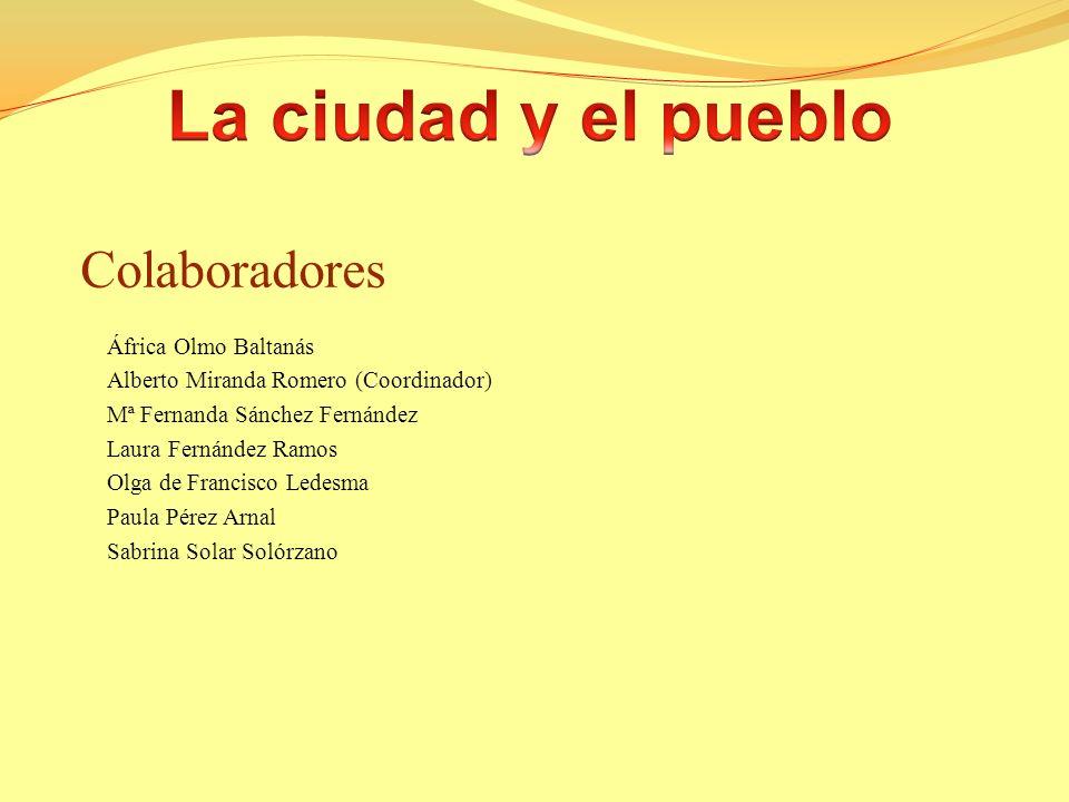 1.¿Cuáles son las diferencias más importantes entre el pueblo y la ciudad en España.
