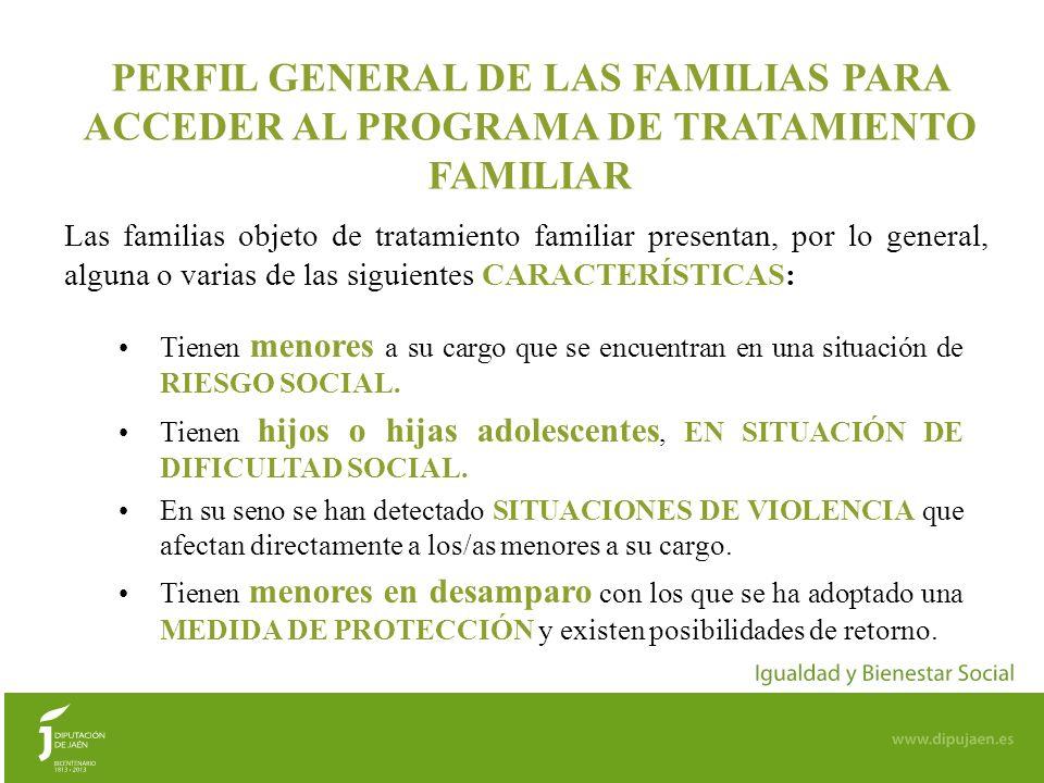8 CAUCES DE DERIVACIÓN DE FAMILIAS AL EQUIPO DE TRATAMIENTO FAMILIAR LA VALORACIÓN DE FAMILIAS QUE SON SUSCEPTIBLES DE ESTE PROGRAMA, siempre es a través de: Los Servicios Sociales Comunitarios o El Servicio de Protección de Menores.