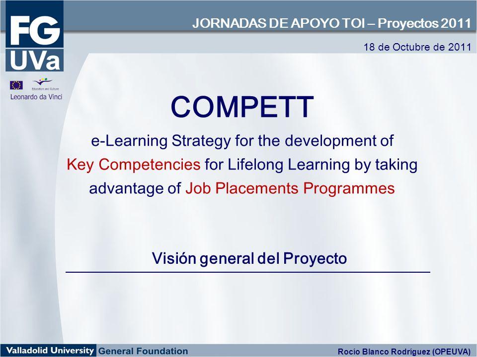 COMPETT constituye un sistema integral de formación, tutorización, seguimiento y evaluación dirigido a capacitar a los universitarios para la adquisición de competencias profesionales de tipo transversal mientras participan en proyectos de movilidad en empresas de toda Europa.