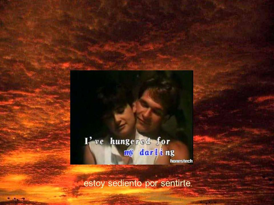 God speed your love to me. Que Dios me envíe pronto tu amor.