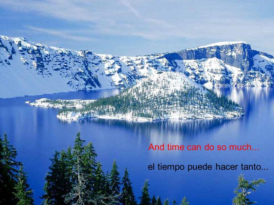 estoy sediento, sediento, por tu amor, I hunger, hunger!, for your love,