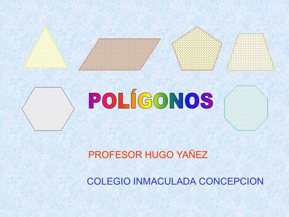 SEPTIMA PROPIEDAD Al unir un punto de un lado con los vértices opuestos se obtiene (n-1) triángulos Ejemplo: 3 2 1 4 N s.