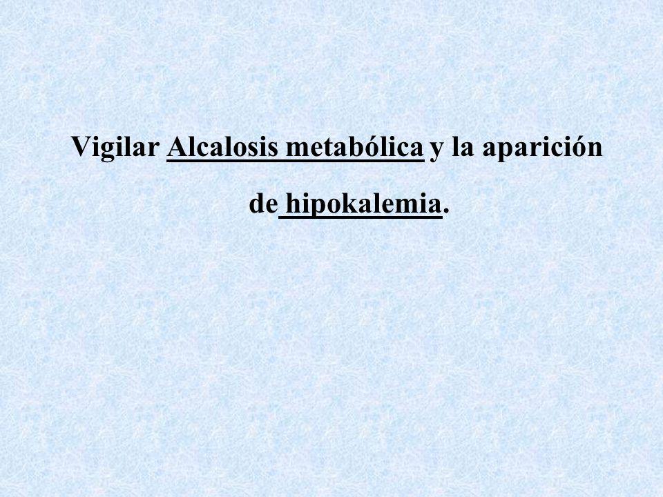 Alcalinización de la Orina. Se utilizan para la intoxicación con barbitúricos de acción prolongada. Bicarbonato 2 meq/kg durante la primera hora hasta