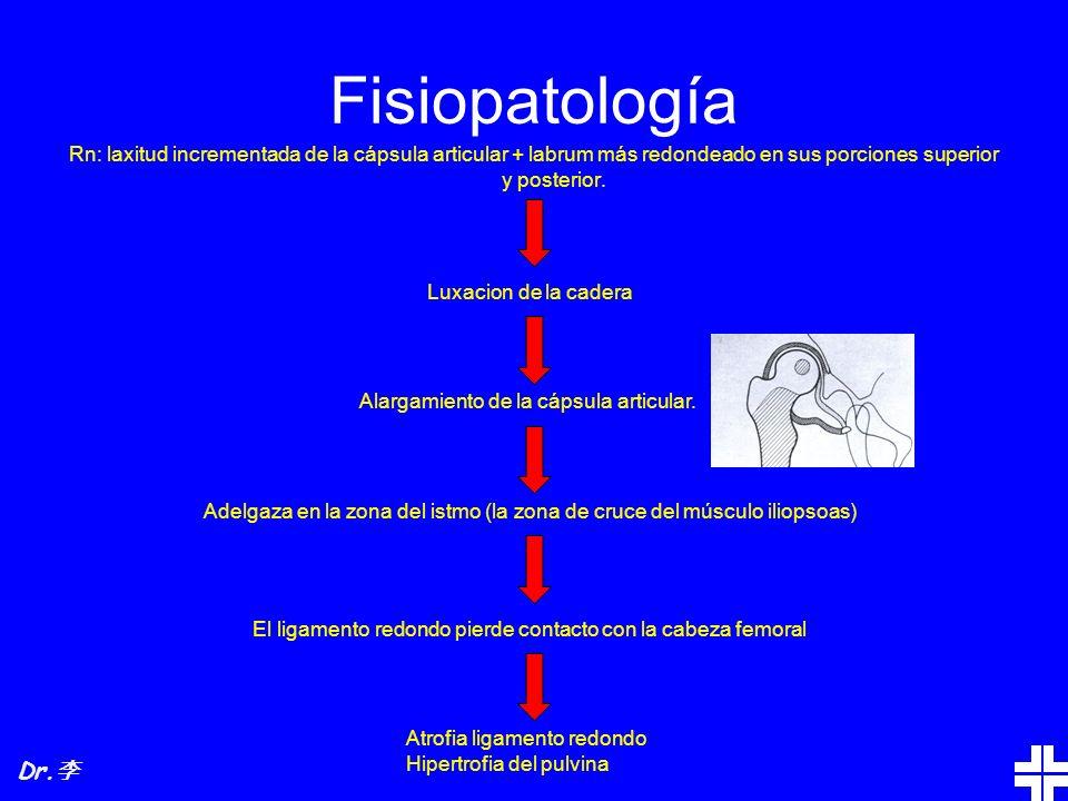 TRATAMIENTO En la epifisiolisis ni bien se confirma el diagnóstico, se debe suspender la carga.