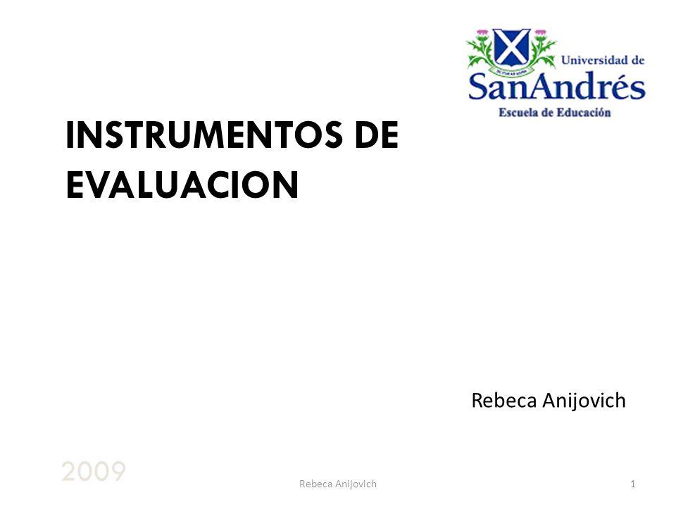 Rebeca Anijovich12 Feedback efectivo Involucramiento activo de los alumnos en su aprendizaje Ajustes en la enseñanza como consecuencia de los resultados de la evaluación Comprensión de la influencia de la evaluación en la motivación y la auto-estima (ARG, online 2004)