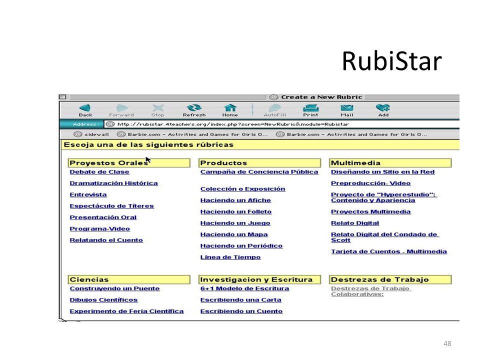 48 RubiStar