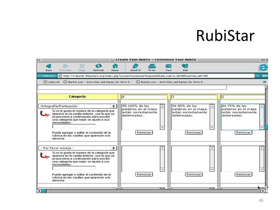 49 RubiStar