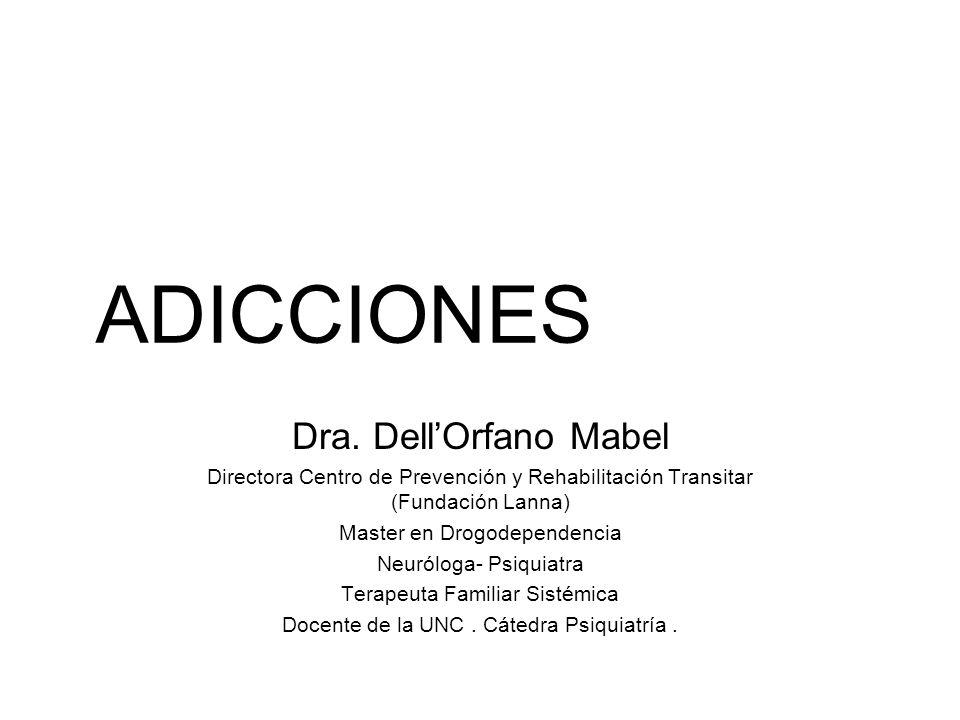 Drogas de abuso y dependencia