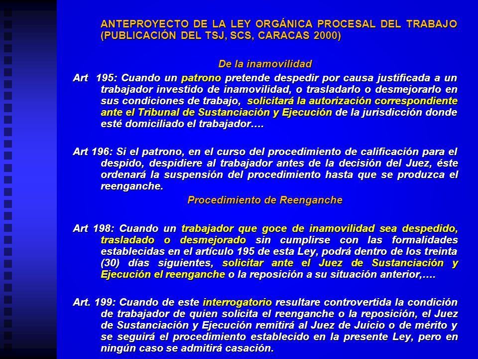 ALGUNAS REFLEXIONES DESDE LA ÓPTICA DE LA LEY ORGÁNICA PROCESAL DEL TRABAJO Y LA CONSTITUCIÓN DE 1999. ARTÍCULO 29 LOPTRA-26 y 49 CN Los Tribunales de