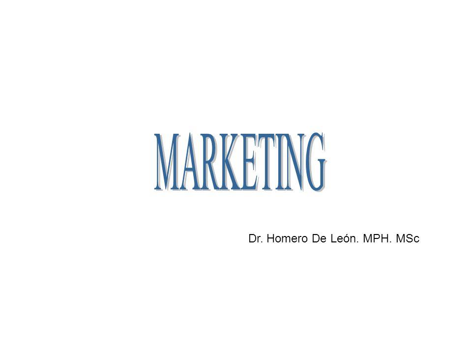 Dr. Homero De León. MPH. MSc