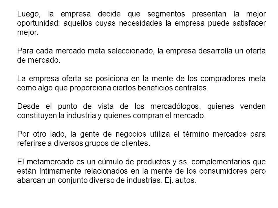 INVESTIGACION DE MERCADO MERCADOS DEL CONSUMIDOR Y CONDUCTA DEL CONSUMIDOR C.